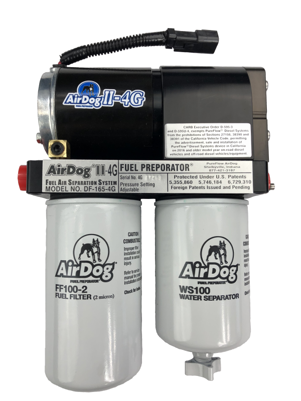 pureflow airdog a6spbd253 ii 4g, df 100 4g 1998 5 2004 dodge Air Lift Pump pureflow airdog airdog ii 4g, df 100 4g 1998 5 2004